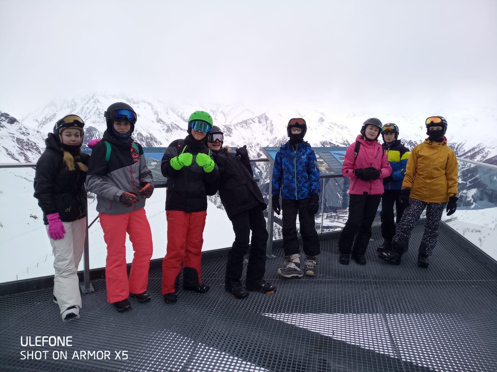 Lyžařský výcvik, Matrei, Rakousko (8. 3. - 13. 3. 2020)