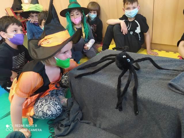 Čarodějnický den v 1. třídách