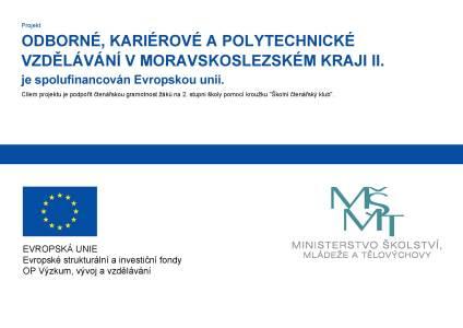 Odborné, kariérové a polytechnické vzdělávání v Moravskoslezském kraji II