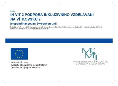 Podpora inkluzivního vzdělávání na Vítkovsku II